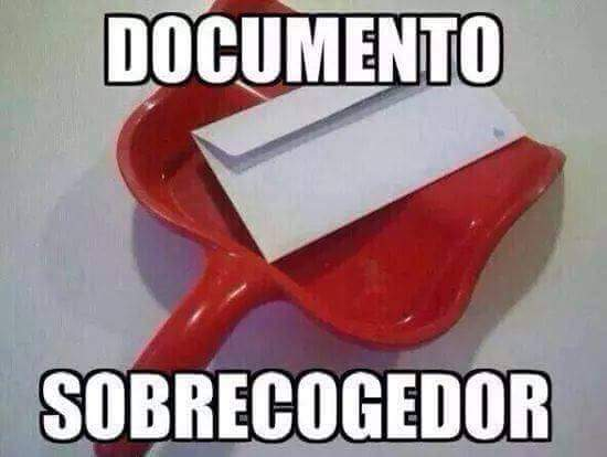 documento sobrecojedor